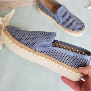 NEW Soda Blue Soda Slip On Shoes